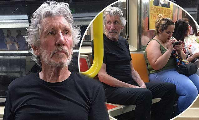 Pink Floyd's Roger Waters takes the subway despite £247M net worth