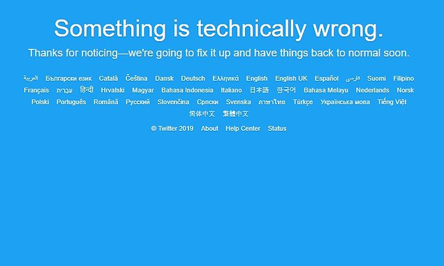 Outage hits Twitter hours after Reddit amid weeks of social media woes