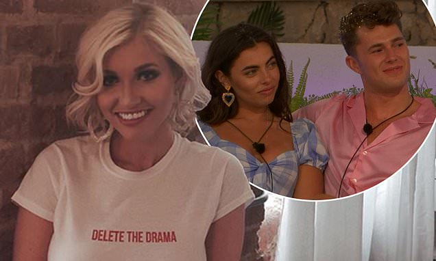 Love Island's Amy Hart makes a statement in a 'Delete The Drama' tee