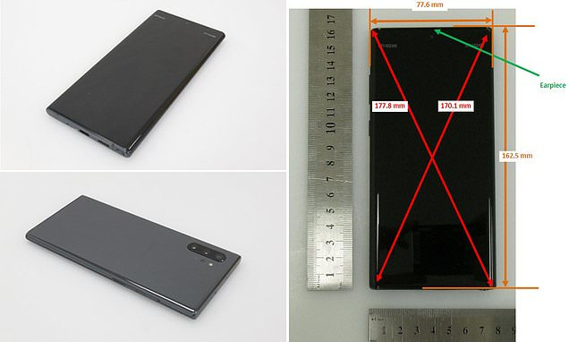 Samsung Galaxy Note 10 exposed in FCC slip-up