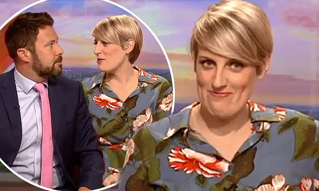 Steph McGovern almost threw up on co-star during morning sickness