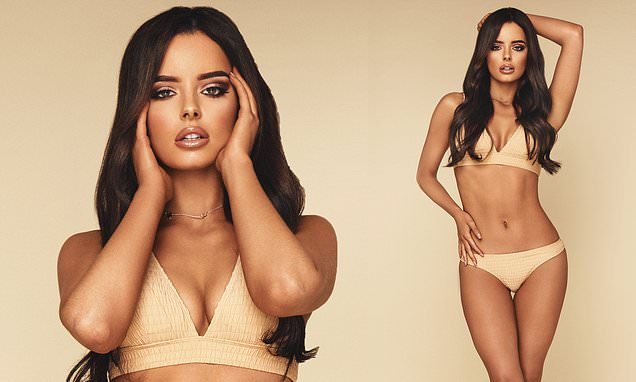 Love Island's Maura Higgins sizzles in a cream bikini in unseen shots