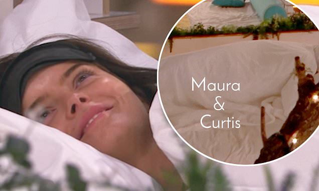 Love Island fans are CONVINCED Maura and Curtis had sex on the daybed