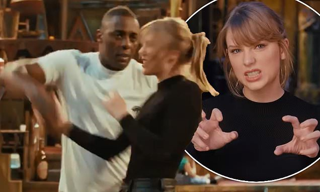 Cats The Movie FIRST LOOK: Taylor Swift dances with Idris Elba