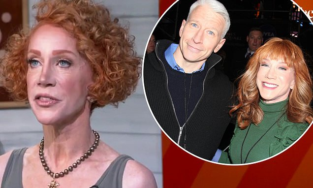 Kathy Griffin continues her feud with Anderson Cooper
