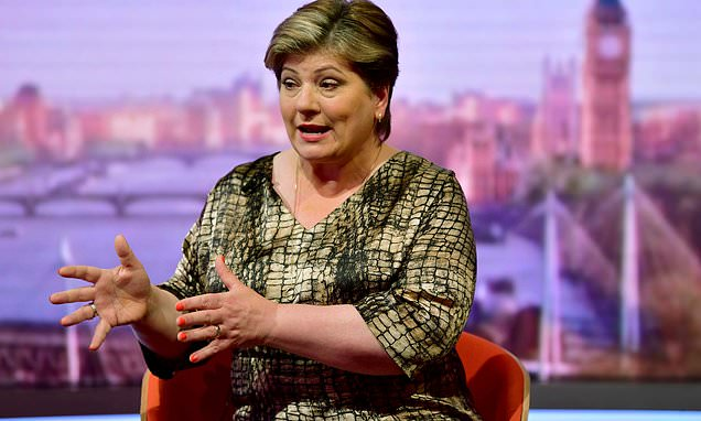 Labour's Thornberry in hospital after bike crash outside Parliament