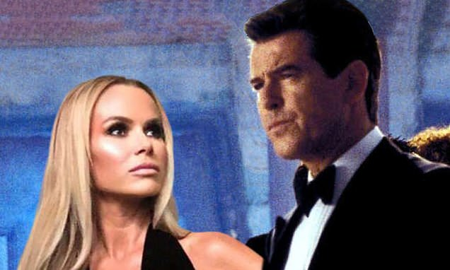 The spy who almost loved Amanda Holden: How she missed out on Bond