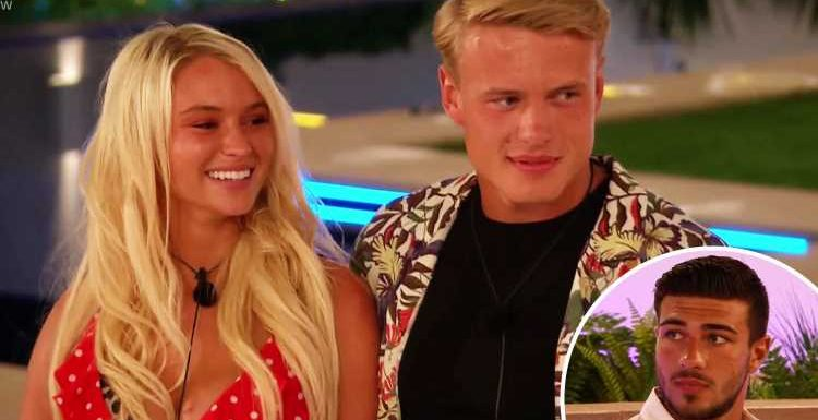 Love Island's Tommy 'is jealous' of Lucie and George as he has 'suppressed feelings for her', body language expert claims – The Sun