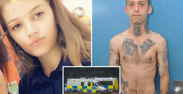 Carer Stephen Nicholson, 25, GUILTY of raping and murdering Lucy McHugh, 13, after she told him she was pregnant