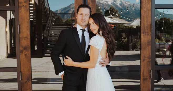 Inside DWTS' Jenna Johnson and Val Chmerkovskiy's 2nd Wedding in Utah: Pics