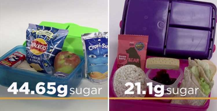 Save Money: Good Diet investigates kids' packed lunches, revealing how to cut sugar content in half and save nearly £200 per year, including swapping chocolate for SHORTBREAD