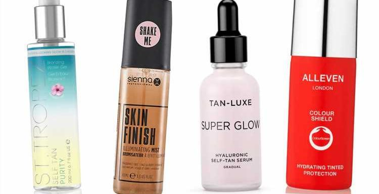 Foolproof self-tans — from gradual-glow drops to mists for top-ups – The Sun