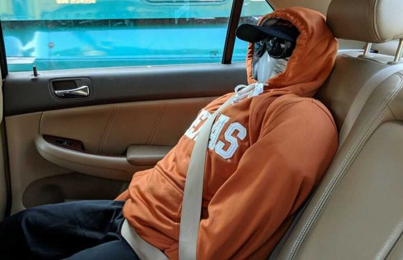 Man busted for driving in HOV lane with dummy in backseat