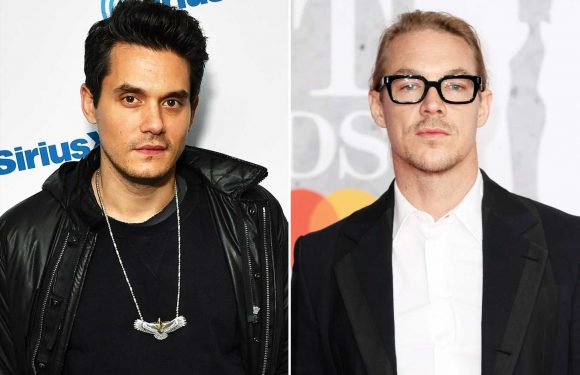 Diplo and John Mayer Show Off Their Skills in Viral Bottle Cap Challenge