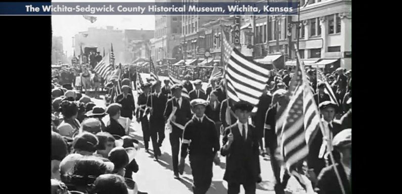 Remarkable 95-year-old film discovered in junk shop shows 1920s Kansas in stunning detail
