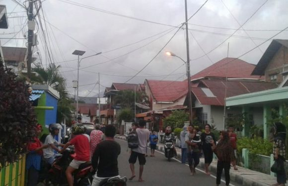 2 people dead, dozens of homes damaged in Indonesian quake