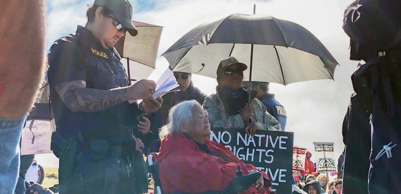 Hawaiian Elders Arrested Trying to Block Telescope Construction