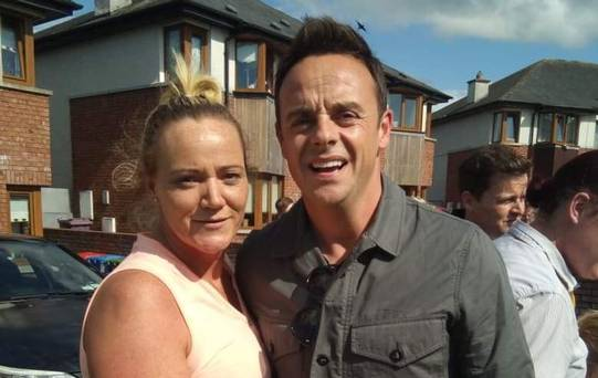 Ant McPartlin takes breaks from filming with Dec to visit cousins in Cork