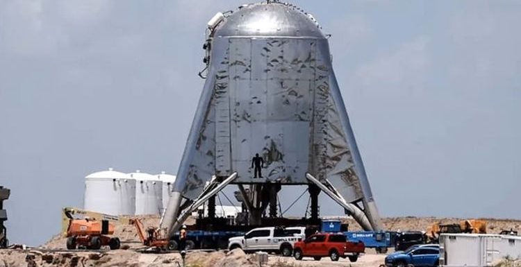 SpaceX Starhopper test: Elon Musk's MAJOR hint Starship prototype will launch this weekend