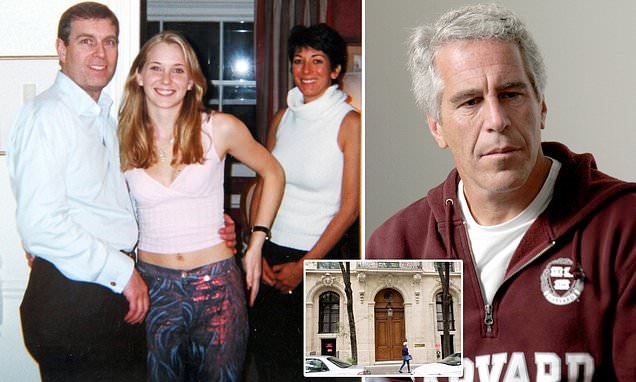 Prince Andrew exposed: 'Sex slave', 17, alleges pair were intimate
