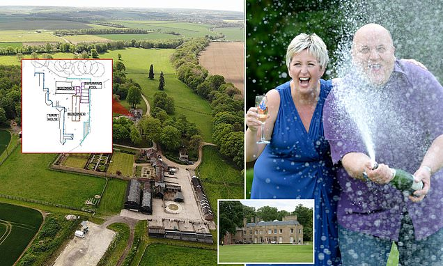 Lottery winner Adrian Bayford fights to keep his outdoor pool and bar