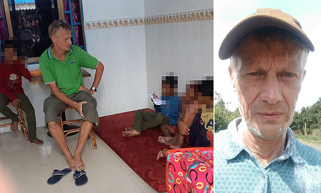 British former headmaster jailed in Cambodia for sexually abusing boys