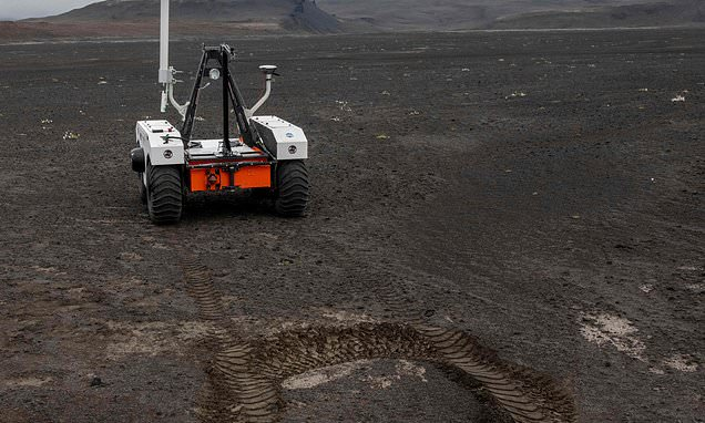 NASA puts its prototype Mars rover to the test at Icelandic lava field