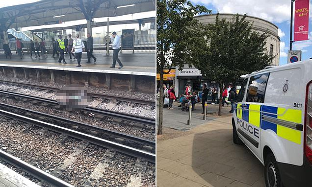 Man electrocutes himself trying to get off tracks at Wimbledon station