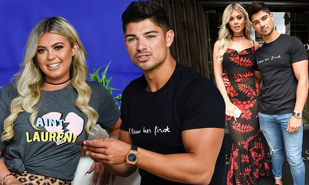 Love Island's Anton Danyluk and Belle Hassan put on a united front