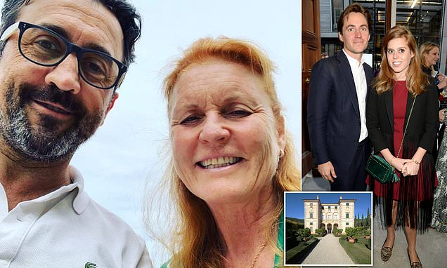 Is Sarah Ferguson already scouting wedding venues for Beatrice?