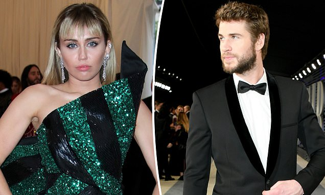 Miley Cyrus and Liam Hemsworth have 'barely spoken' since split