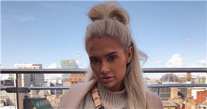 Molly-Mae Hague declares it's 'good to be home' as she poses on impressive balcony in Manchester – after giving fans a glimpse inside her lavish home