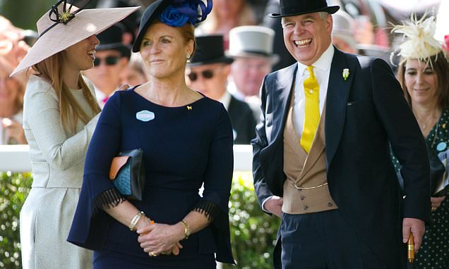 Prince Andrew and Duchess of York spend a week with the Queen