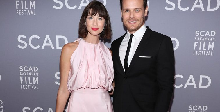 'Outlander': Sam Heughan And Caitriona Balfe Share Sweet Sentiments