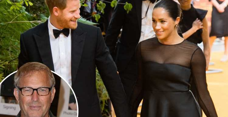 Meghan Markle can never go back to acting because 'Harry won't want to see her kissing someone else' says Kevin Costner