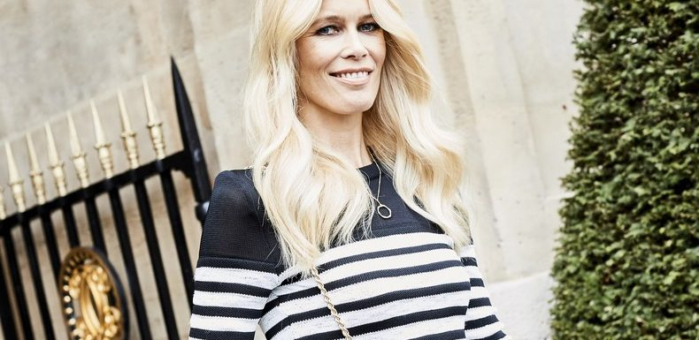 At 48, Claudia Schiffer Rewrites The Rules of a Nude Magazine Cover
