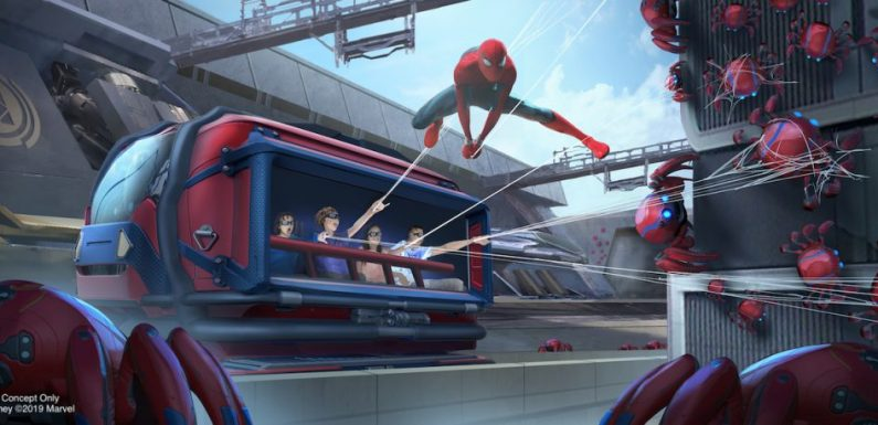 Disney Parks Announces Its Marvel Land WEB Program Will Be Introduced in Movies, Even Though Spider-Man May Not Appear in Future MCU Films [D23]