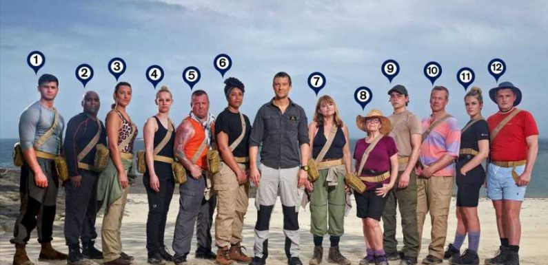 Bear Grylls' Treasure Island line-up revealed as a 75-year-old great-gran and Prince Philip's cousin compete for £100k