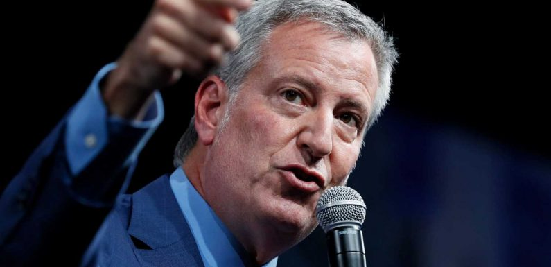 De Blasio campaign event in Iowa draws roughly 15 attendees