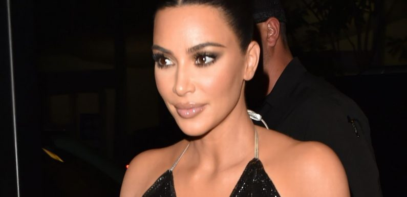 Kim Kardashian sets pulses racing as she wears see-through top to Tonight Show