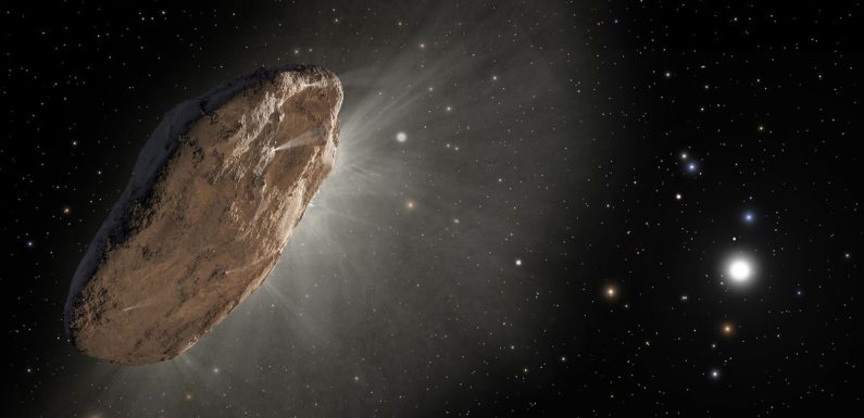 Alien comet barrelling towards Earth could be visitor from another star system