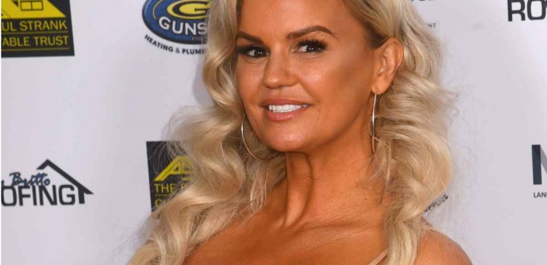 Kerry Katona shows off incredible results of boob job after joking she no longer 'trips over her nipples'