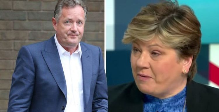 Piers Morgan: 'I make no apologies' GMB host reacts to Emily Thornberry interview backlash