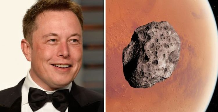 Asteroid shock: Elon Musk-inspired plan to smash rock into Mars revealed