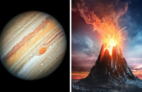 Jupiter shock: Largest volcano on Jupiter's moon Io is about to blow – Visible from Earth