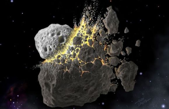 Asteroid collision: Massive space rock crash 'triggered ice age on ancient Earth'
