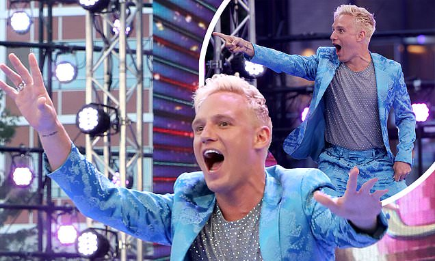 Strictly viewers confused by Jamie Laing's appearance on launch
