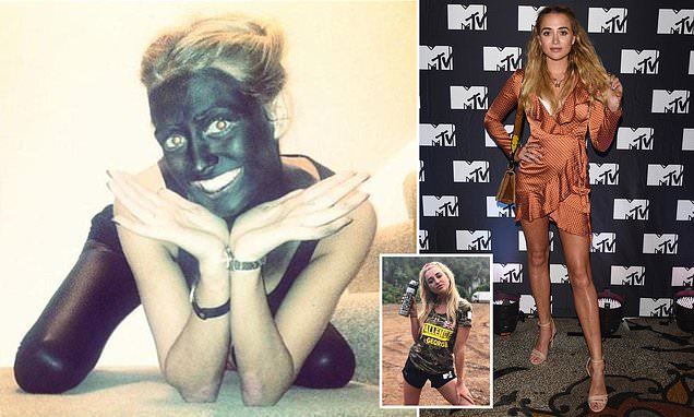 Georgia Harrison in racism row after 'blackface' images resurface