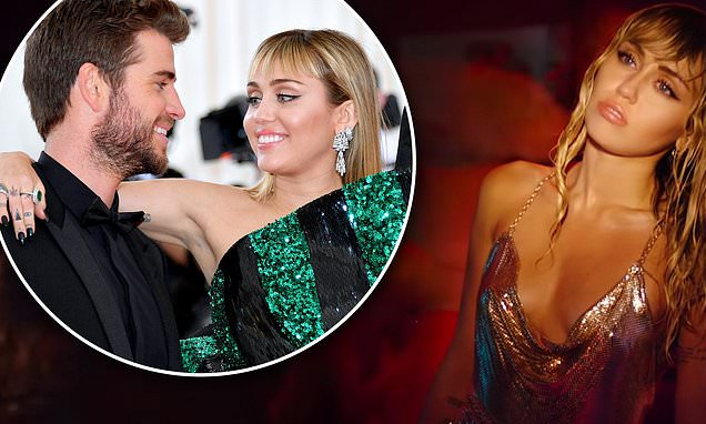 Miley Cyrus references ex Liam Hemsworth in Slide Away music video