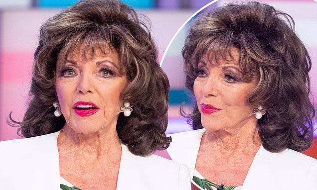 Joan Collins says it's 'ludicrous' there are now more than 100 genders